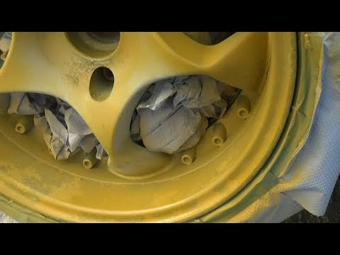 Alloy Wheel Restoration - Curb Scuffing & Road Salt Pitting