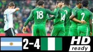 ArgentIina vs Nigeria 2-4 All Goals & Highlights HD ● 14 Nov 2017 - FRIENDLY