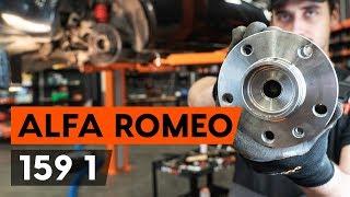 Come e quando cambiare Cuscinetto mozzo ruota anteriore e posteriore ALFA ROMEO 159 Sportwagon (939): video tutorial