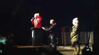 Comedian Breaks Neck Crowd Surfing in Wheelie Bin @ Download Festival