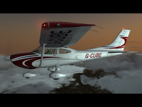A2A C182 Skylane - Flight1 GTN 750 IFR Intro