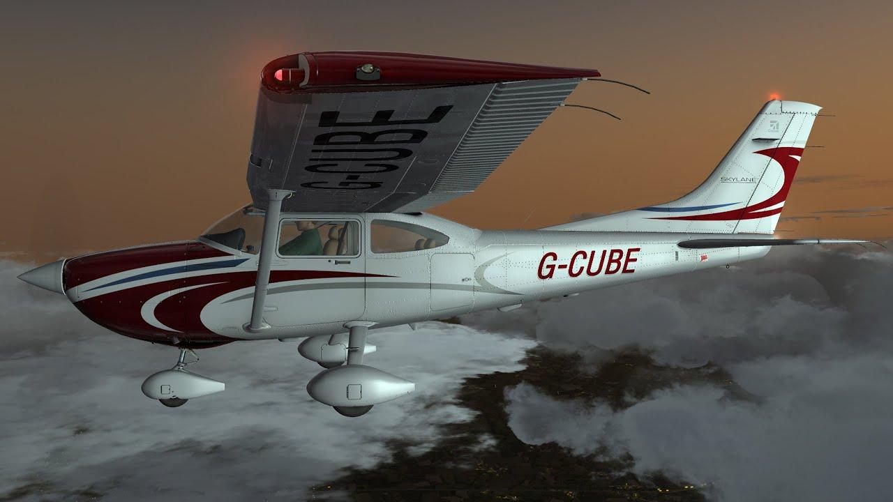 A2A C182 Skylane - Flight1 GTN 750 IFR Intro | FunnyCat TV