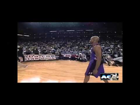 Vince Carter's Arm in rim dunk - 2000 Slam Dunk Contest