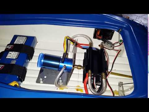 RC Turnigy AquaStar 3660-1700KV Water Cooled Brushless Motor