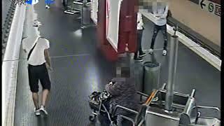 Fahndungsvideo: Polizei sucht Gewalttäter aus Köln