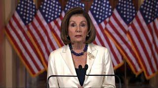Pelosi OKs drafting of impeachment articles
