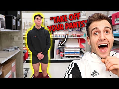 FUNNY DARES In GROCERY STORE With My BROTHER!