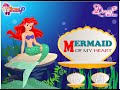 The Little Mermaid Cartoon Game -  The Little Mermaid Dress Up Games
