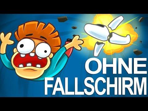 Was wenn du aus 10.000 Metern ohne Fallschirm springst?
