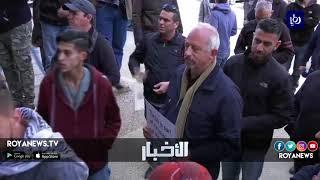 طرد نشطاء فلسطينيون وفداً أمريكياً من إحدى المؤسسات وقذفوا عليهم البيض - (22-2-2018)
