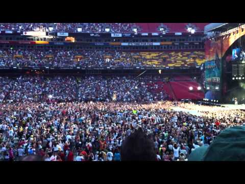 "Kenny Chesney at FedEx ""Live a Little"" Opening song 6/4/11 LIVE HD"