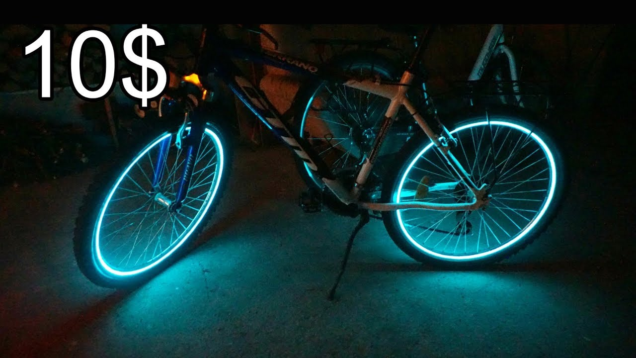 Bike wheel lights hack | simple DIY