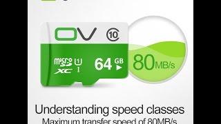 Micro SD Card 32GB Class 10 для мобильного телефона, смартфона, планшета, MP3, камер