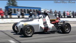 2JZ JET CAR | Hand Built 600hp Vs. Lambo Huracan |