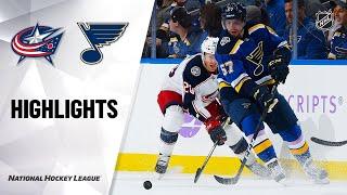 NHL Highlights   Blue Jackets @ Blues 11/01/19