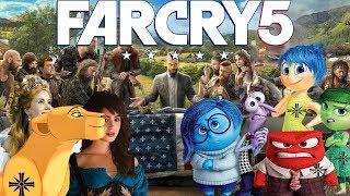 Far Cry 5 в Дисней мультфильмов (Прикол)