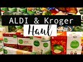 HEALTHY GROCERY HAUL | ALDI & KROGER | ORGANIC ON A BUDGET | FAMILY OF 6