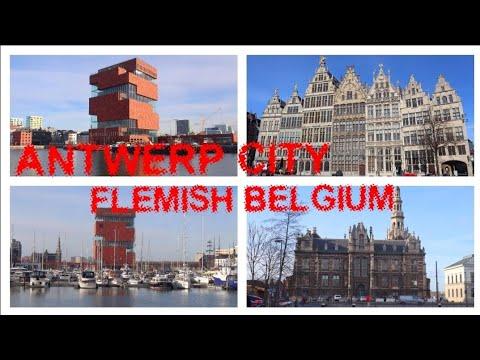 ANTWERP CITY FLEMISH BELGIUM