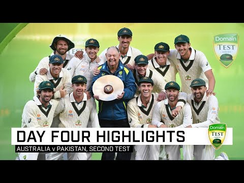 Australia Complete Clean Sweep After Lyon's Five-wicket Haul | Second Domain Test