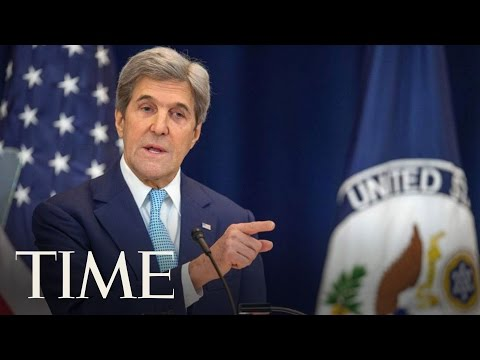 John Kerry Reiterates Importance of Two-State Peace Solution for Israel and Palestine | TIME