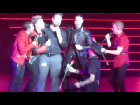 "BSB - ""Shape of My Heart"" and Joey Fatone!"