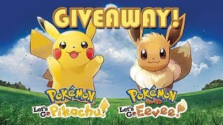 GIVEAWAY! Pokemon Let