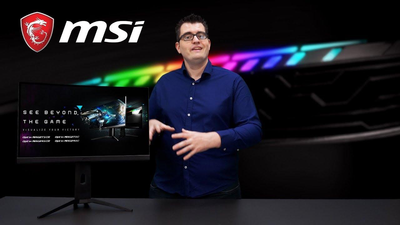 New MAG series Introduction | Gaming Monitor | MSI