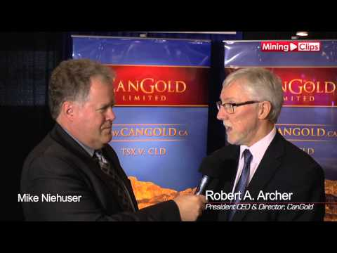 Analyst Update with Cangold President & CEO, Bob Archer at the VRIC 2015...