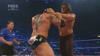 The Great Khali vs Batista -Smackdown 2007 -Khali Almost Killed Batista thumbnail