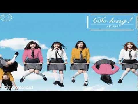 AKB48 - So Long! 【Male Version】