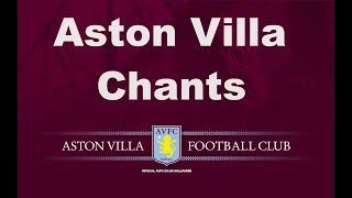 Aston Villa's Best Football Chants Video | HD W/ Lyrics