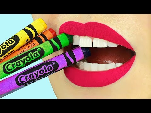 Thumbnail: 12 DIY Edible School Supplies! Pranks for Back to School!