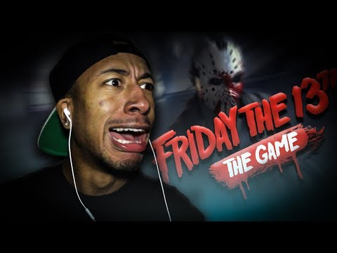 FRIDAY THE 13TH | IM SO TRASH AT THIS GAME!!!