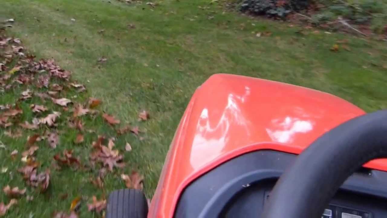 Simplicity Tractor Trac Vac Youtube