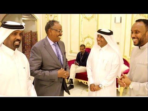 Daawo: Maal-Qabeen Somali-Qatari ah oo casuumay wafdiga Taliyaha ciidanka Xooga dalka iyo waxay ku arkeen Qatar