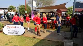 Line Dancing at Cars In The Park - 5 August 2018