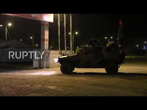 Turkey: Military convoy