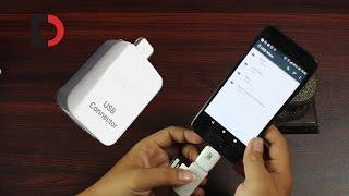 Trên tay USB OTG Samsung - Nhỏ gọn, Đẹp, Hoàn thiện