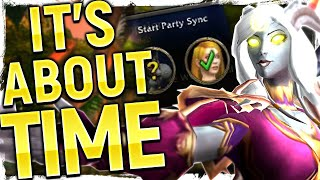 Brilliant Patch 8.2.5's Surprise - Party Sync  Big Implications For Wow's Level Squish Plan