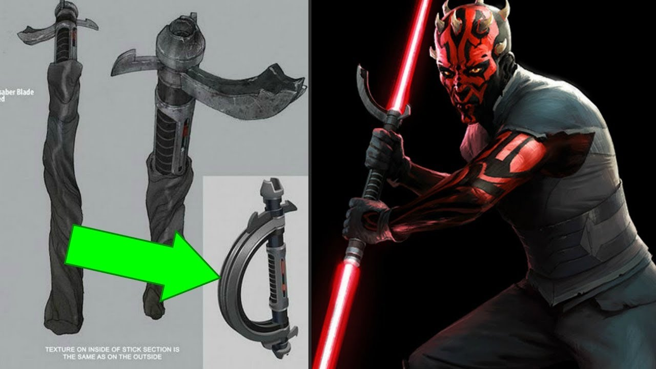 How Darth Maul Really Got His Final Lightsaber Star Wars Explained Youtube