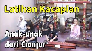 Latihan Kacapi Anak-anak Cianjur | Perceka Art Centre