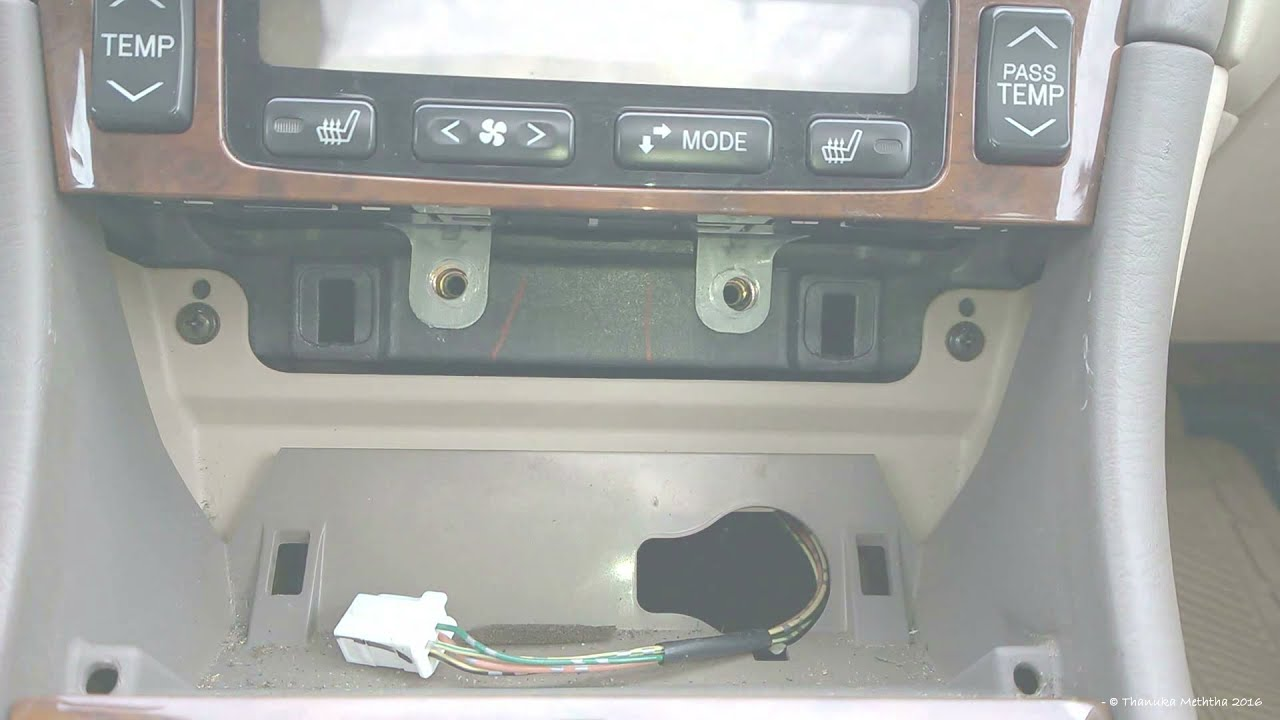 Radio Wiring Diagram For 1999 Toyota Avalon Xls