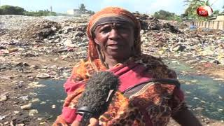 Illegal dumpsite by Mombasa County on land belonging to KBC