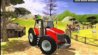 Heavy Duty Tractor Drive 3d: Real Farming Games Android Gameplay. screenshot 3