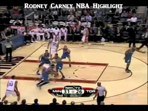 Rodney Carney NBA Highlight