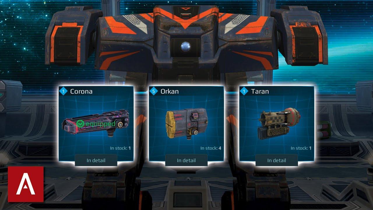 Download NEMESIS TOP 3 BEST SETUPS    War Robots [WR]
