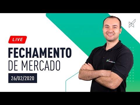 FECHAMENTO DE MERCADO COM LEANDRO MARTINS 26.02.2020