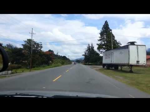 A Drive Through Volcan Panama
