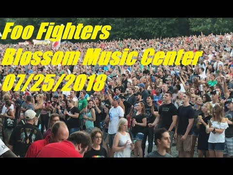 Foo Fighters Concert Highlights Blossom Music Center 7/25/2018
