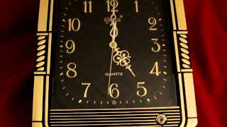 VINTAGE India Art Deco Ajanta Clock With Music, Daylight Sensor, Volume Control  3